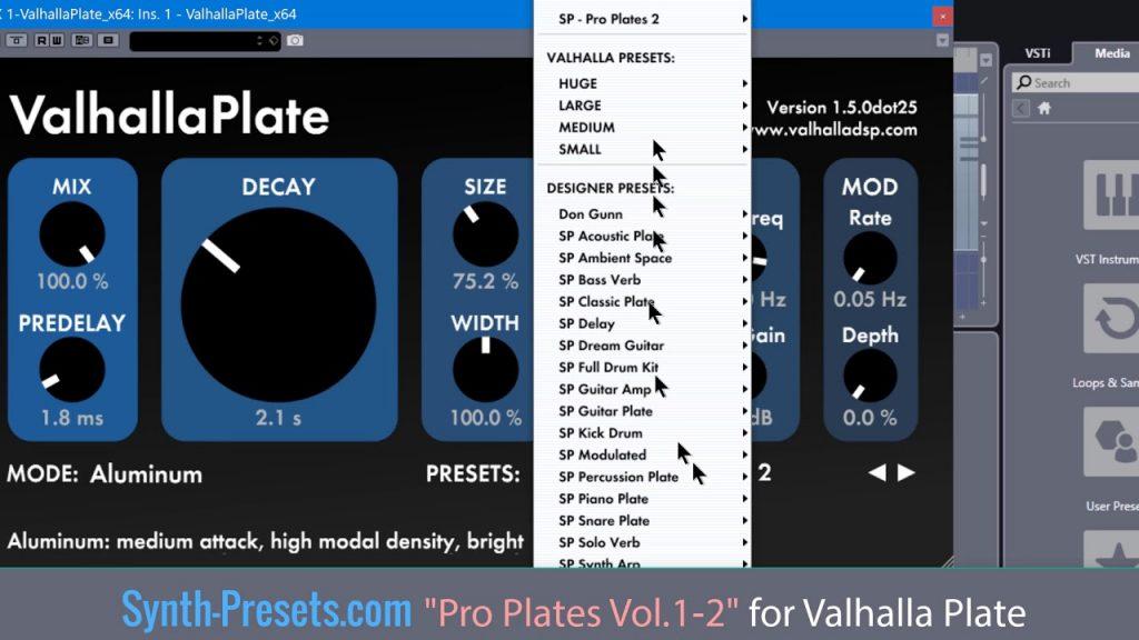 Valhalla Plate vst free download